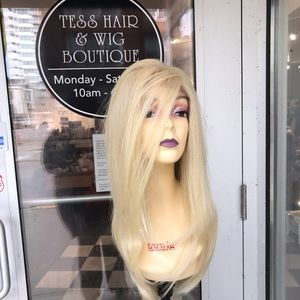 Accessories - Wig blonde 6X6 Swisslace Freeparting Lace wig 2018